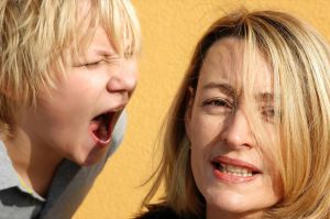 Is it okay to yell at my children?